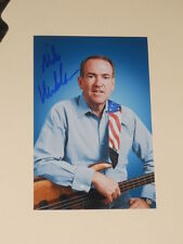 Governor MIKE HUCKABEE Signed 4x6 Photo REPUBLICAN AUTOGRAPH 1D