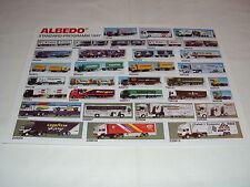 W/4/13/1 MODELLO DI AUTO Catalogo Prospetto albedo modelli miniatura programma standard 97
