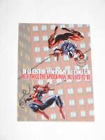 1994 SPIDERMAN CLONE SAGA CHECKLIST PROMO CARD MARVEL Spider-verse Spider-Geddon