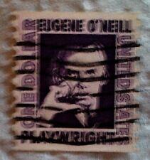 1973 Scott 1305c U. S. Eugene O'Neill, Author one used $1 stamp off paper