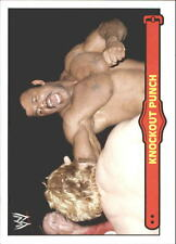 2012 Topps Heritage WWE Ringside Action #50 Rocky Johnson/ Knockout Punch