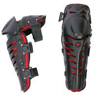 Adult Knee Shin Armor Protector Guard Pad Bike Cycle Motorcycle Motocross Racing