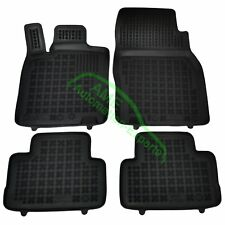 Gummimatten Fußmatten mit Rand für Nissan Qashqai (Typ J11) ab Bj: 2014-2017