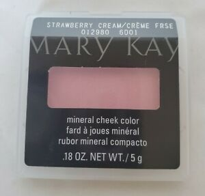 Mary Kay Mineral Cheek Color STRAWBERRY CREAM *Free Shipping*