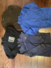 under armour quarter zip Eddie Bauer Men's 1/4 Sweatshirt Sweat Shirt Lot Ascent