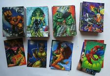 1994 FLAIR INAUGURAL Marvel Complete SET 150 Cards