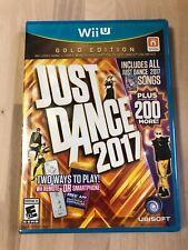 Just Dance 2017: Gold Edition (Nintendo Wii U, 2016)