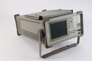 HP 37717C OmniBer Communications Performance Analyzer OPT 110, 120, 130, A3B USS