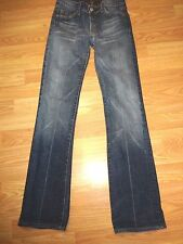 SEVEN FOR ALL MANKIND STRETCH DENIM BOOTCUT JEANS SIZE 26