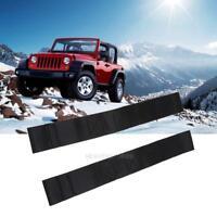 For Jeep Wrangler CJ TJ YJ Adjustable Door Limiting Straps PAIR 1955-2006 hv2n