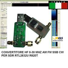 HF CONVERTER HAM RADIO RTL SDR 100KHZ-30MHZ X SDR RTL2832U R820T2 R820T