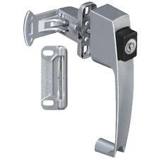 Aluminum Push-Button Handle Screen Storm Door Key Lock Latch N178384