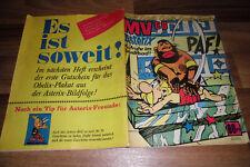 MV 68  # 34 vom 24.8.1968 -- mit DAN COOPER ASTERIX RICK HOCHET MICHEL VAILLANT