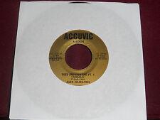 "ALEX HAMILTON ""Fuss And Fighting Pt. 1 (Woman)"" Accuvic AC-501 Scarce!"