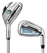 Adams Blue Ladies Combo Irons Set Graphite 4,5Hybrid, 6-PW Ladies RH
