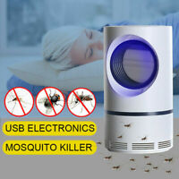 Electric UV Light Mosquito Killer Lamp USB Insect Bug Fly Zapper Repellent Trap