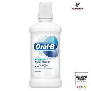 Oral-B Gum Protect & Enamel Repair Mouthwash Fresh Mint Alcohol Free 500ml