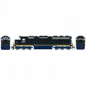 Athearn HO SD45-2 w/DCC & Sound CSX Railroad ex CRR #8970 ATH G86217