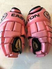 Easton Synergy 500 Pink 14ins Hockey Gloves