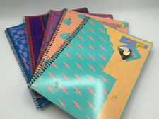 Lot Of 5 Authentic Mead Super Shades Toucan 60 Sheet Spiral Notebooks -1988-1992