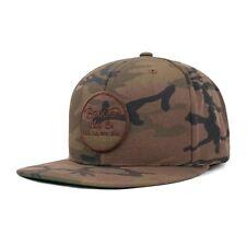 BRIXTON WHEELER SNAPBACK CAP CAMO