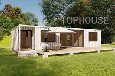 81m² Mobilheim als Hauptwohnsitz Ferienhaus  Modulhaus Containerhaus Büro