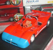 M4 7209 ALFA ROMEO 33.3 BARCHETTA MACHINA ITALIAN CAR DIECAST METAL ECHELLE 1:43