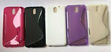 TPU gel, silicona piel cubierta de montaje de teléfono caso delgado para caber HTC Desire 610