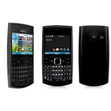 Classic Unlocked Tastiera QWERTY originale per Nokia X2-01 Symbian OS MP4 Nero