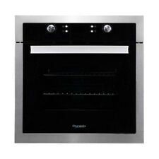 60cm Oven 9 Multi-Function 65 Litre Electronic Clock Triple Glass Door