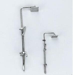 1//12 Scale Dollhouse Miniature Metal Bath Shower Head Bathroom Furniture