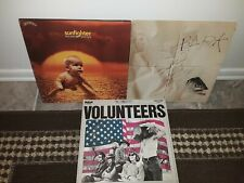 "JEFFERSON AIRPLANE -3 LP LOT ""Bark / Volunteers / Sunfighter'  RCA & Grunt Psych"