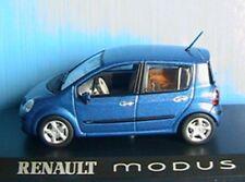 RENAULT MODUS 2006 BLUE METALLIC NOREV 517751 1/43 BLEU METAL MODEL CAR WAGEN