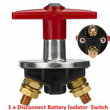 Marine Car Boat RV Vehicle Battery Isolator Disconnect Cut OFF Power Kill Switch