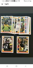 2006 Topps Pittsburgh Steelers Team Set 13 Cards