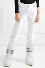 KJUS SELLA JET SLIM-LEG WHITE SKI PANTS size FR 38 / UK 10 NEW AUTHENTIC