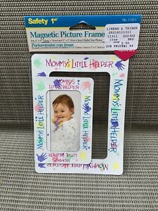 Safety 1st Magnetic Picture Frame - Mommy's Little Helper *NEW