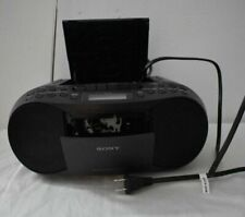 Sony Compact Portable Stereo Sound System Boombox With Mp3 CD Player