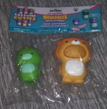 *NEW* Soft'N Slo Squishies Green Dino Cutie With Tan Lion Costume  Series 1