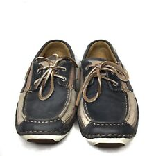 60bb6d531d New listing Mens Size 7 Shoes Loafers Timberland Casual Leather Tan Grey  Canvas