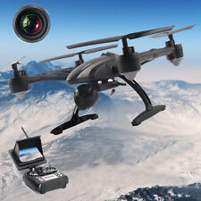 JD509 FPV 2.4Ghz 4CH RC 6-Axis Quadcopter Drone with 2MP HD Camera RTF UFO 2016