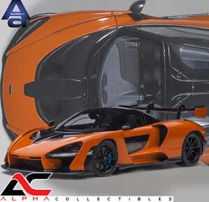PRESALE AUTOART 76078 1:18 McLAREN SENNA (TROPHY MIRA/ORANGE) SUPERCAR