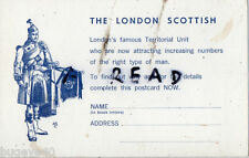 Reclutamiento Carta 14th Londres Regimiento Escocés De Gordon Highlanders TA
