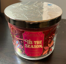 bath and body works Tis The Season 3 Wick Candle 14.5oz