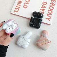 For Apple AirPods Case protect Marble Cover Skin AirPod Earphone Charger Case US