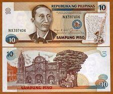 Philippines, 10 Piso, ND (1985-1994), Pick 169b, UNC