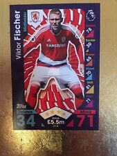 Match Attax Season 16/17 Middlesbrough #213 Viktor Fischer