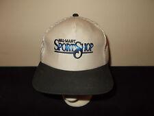 VTG-1990s Walmart Sport Shop Fishing Bass Outfitters mesh snapback hat sku29