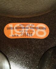 Vintage 1968 Buco Sears 7521 Sportsman Snell Motorcycle Helmet & Box Bell Style