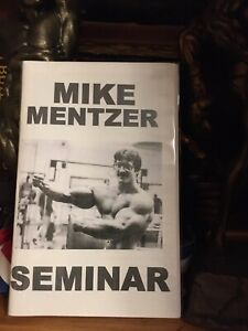 Powerlifting Bodybuilding Mike Mentzer In Seminar Rare New Booklet 2016